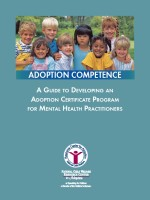 A Guide to developing An Adoption Certificate Program for Mental Health Practitioners