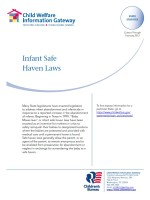Infant Safe Haven Laws