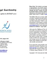 Kinship Legal Guardianship